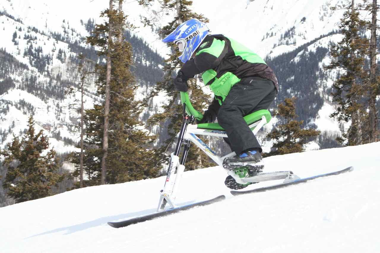 Ski bike