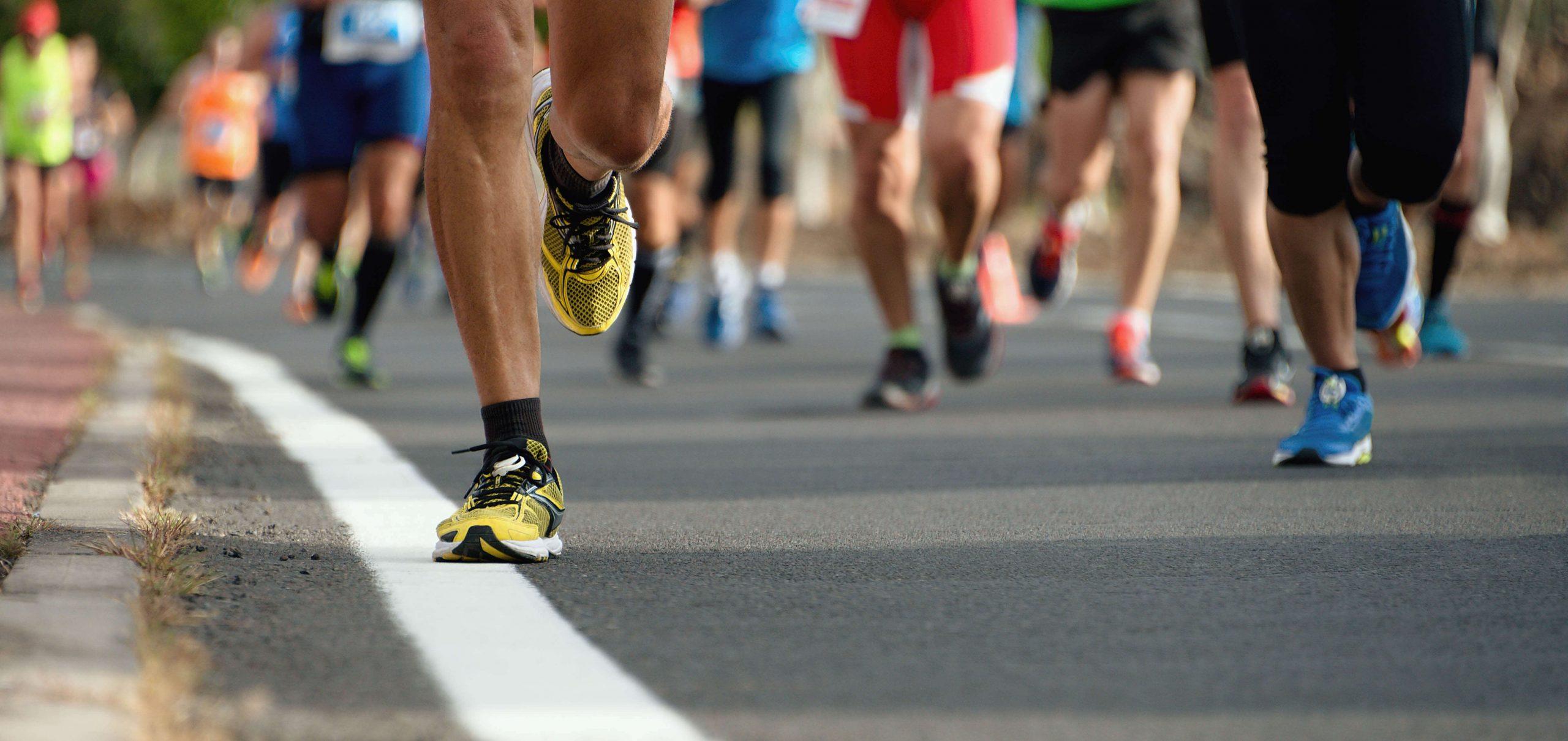 Carrera de running